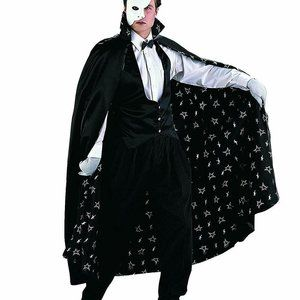 Charades Men's The Phantom, As Shown, Large
